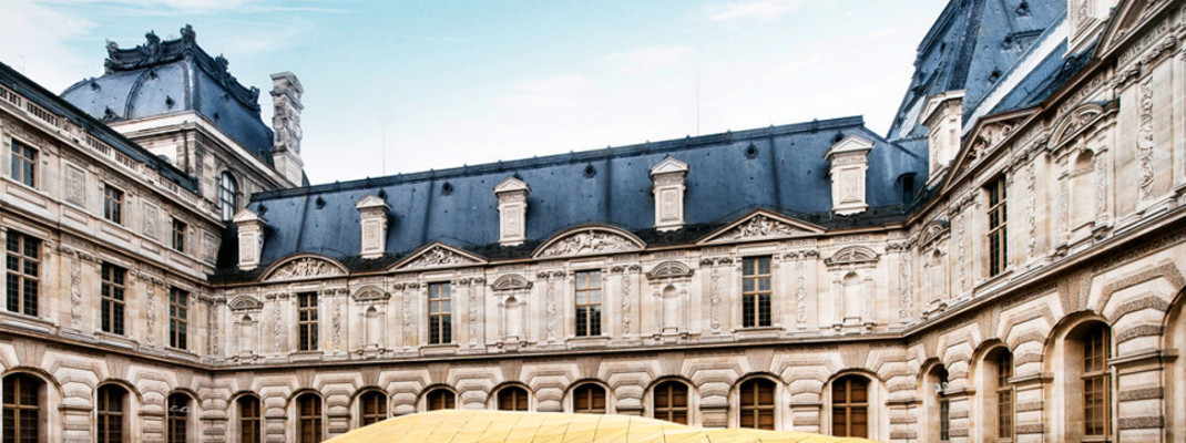 Ołowiany dach pałacu Louvre w Paryżu Leadpol